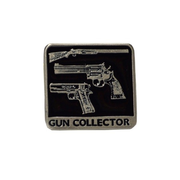 Speldjes Empire Pewter Gun Collector Pewter Pin