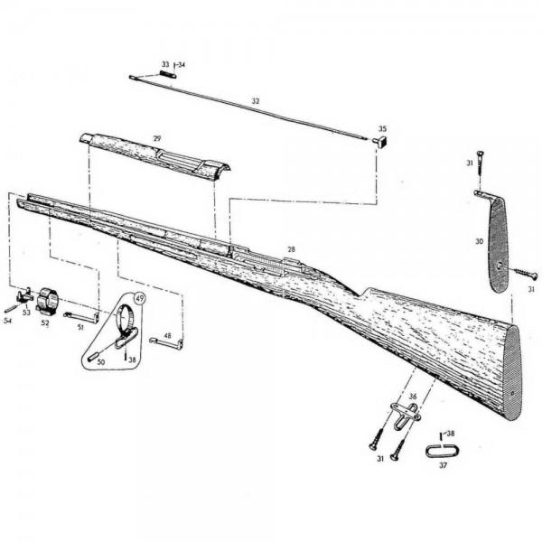 altes gewehr hakenbüchse